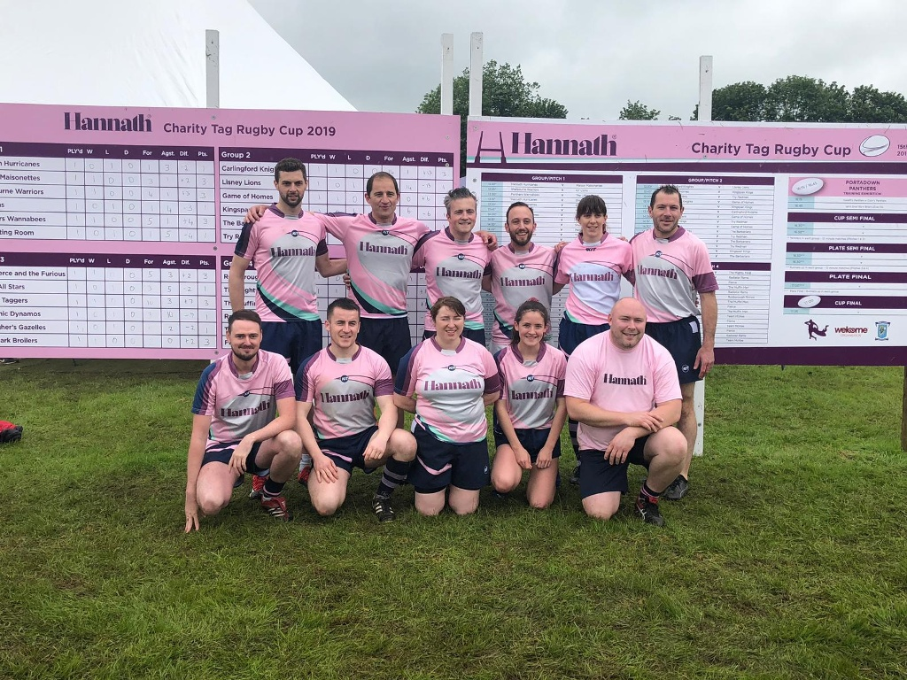 The Muck Made It - Hannath Charity Tag Rugby Day!