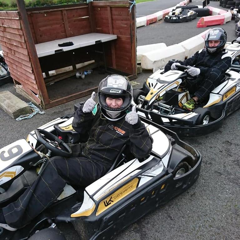 Team Hannath Social Events - Go Karting