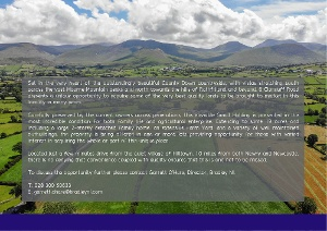 A Smallholding in the Heart of the Mournes