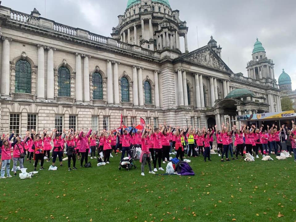 Putting Our Breast Foot Forward For Action Cancer
