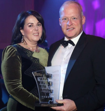 Donegal Auctioneer Scoops Prestigious Property Industry Excellence Award