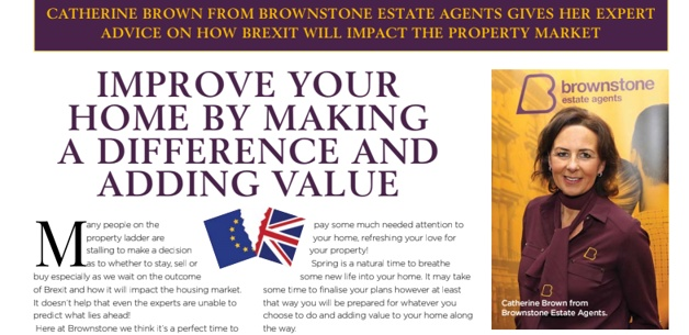 March Edition of Local Women, features Brownstone Estate Agents smart thinking on Post Brexit