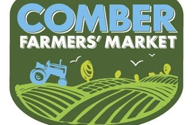 Comber Farmers' Market at Night