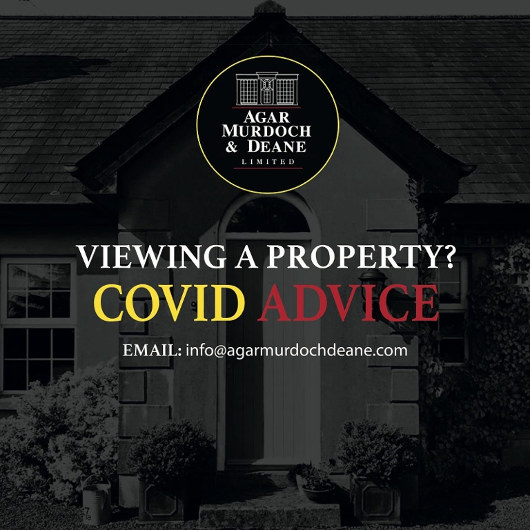 Viewing a Property, Covid-19 Advice.