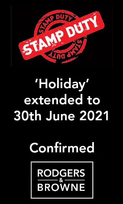 STAMP DUTY UPDATE 3 MARCH 2021