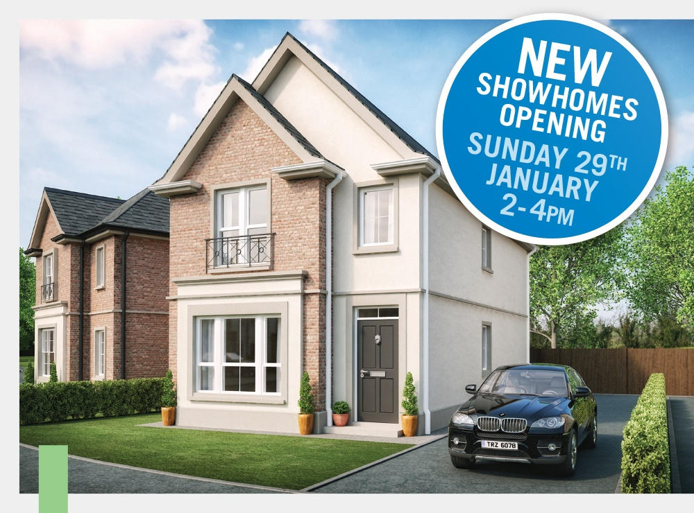NEW HADLOW SHOW HOMES - OPENING SUNDAY 29TH JANUARY 2017 2-4PM