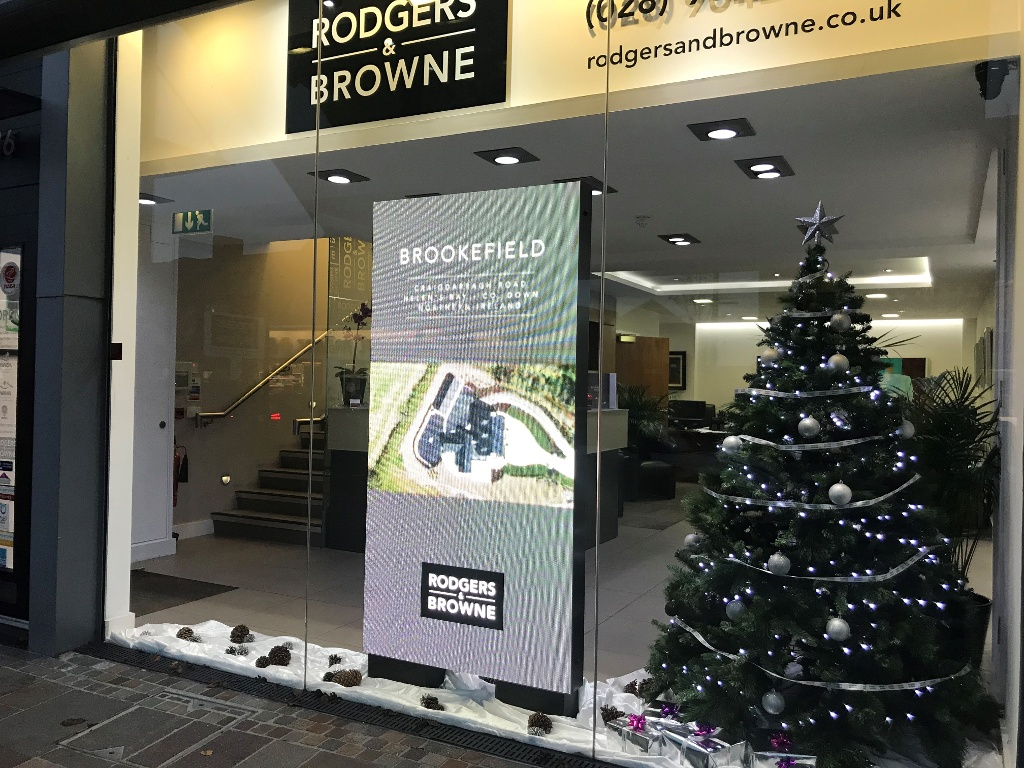 Christmas has come to Rodgers & Browne