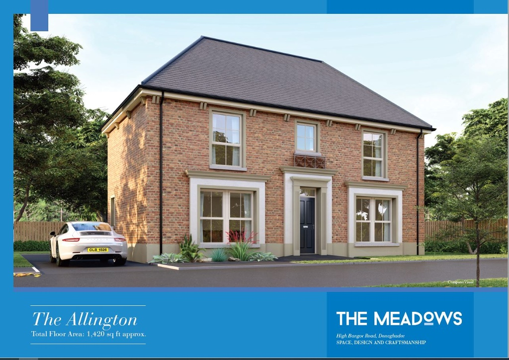 Last Home on Release - 'The Allington', Site 6 The Meadows, Donaghadee