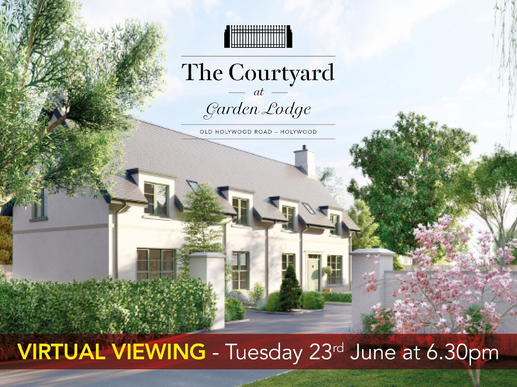 The Courtyard at Garden Lodge, Old Holywood Road, Holywood - Virtual Viewings Tuesday 23rd June 6.30pm