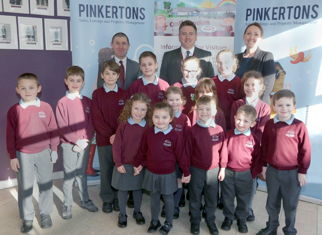 PINKERTONS ESTATE AGENTS TEAM UP WITH CASTLE GARDENS PRIMARY SCHOOLFOR AN INNOVATIVE FUNDRAISING SCHOOL PROJECT