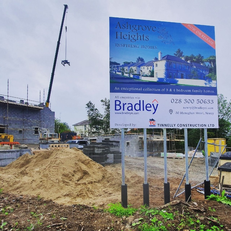 Bradley NI Launch New Homes in Newry for Tinnelly Construction