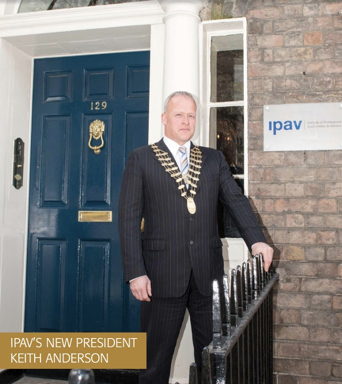 Keith Anderson Elected IPAV President