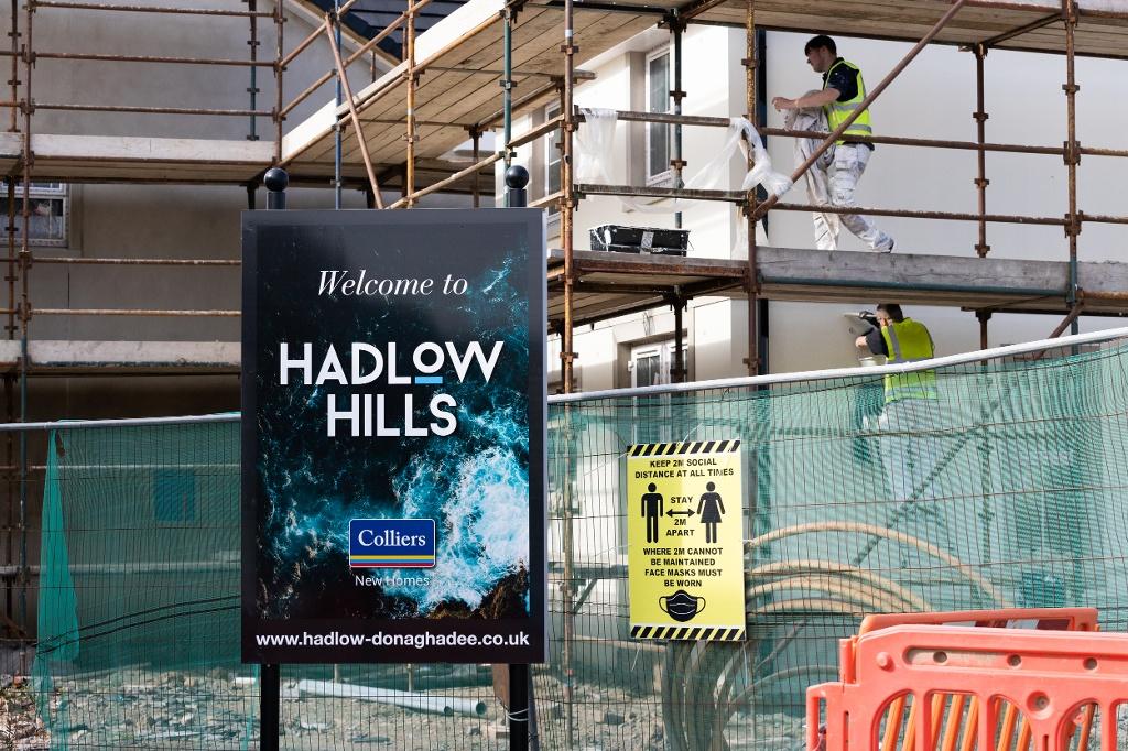 Hadlow Hills, Donaghadee well underway