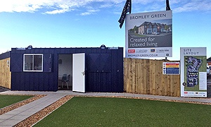 Site office at Bromley Green is now open.