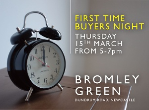 FIRST TIME BUYERS EVENING - Bromley Green