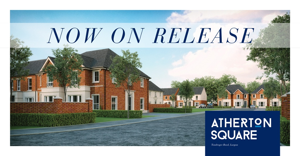 New Atherton Square, Lurgan Now On Release