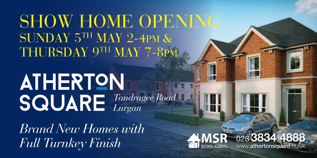 New Show Home Opening at Atherton Square