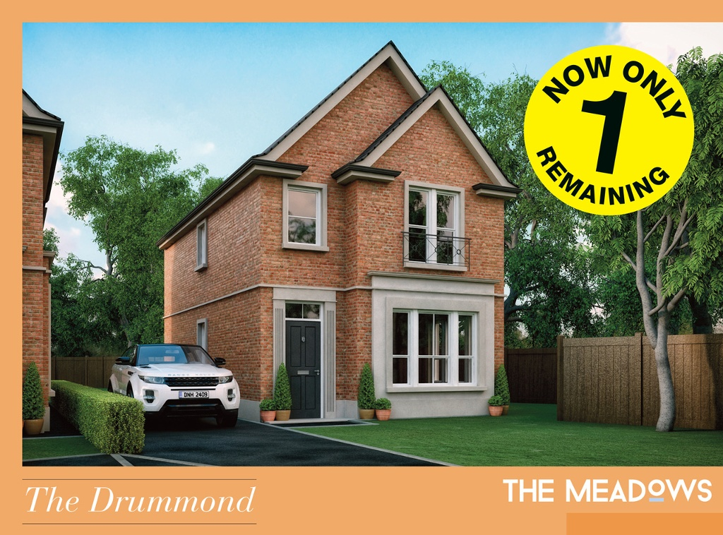 Only One Home Remaining At The Meadows