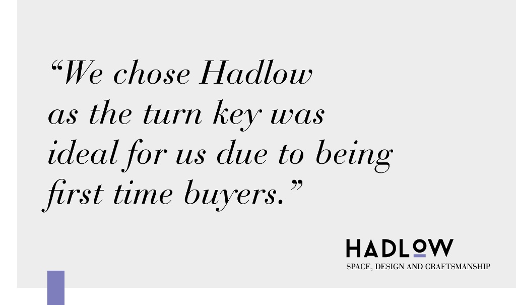 Happy First Time Buyers at Hadlow