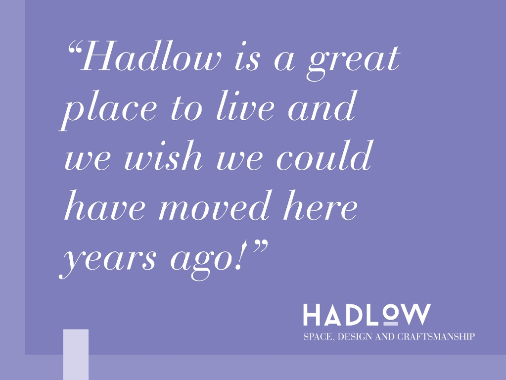 A Happy Hadlow Homeowner