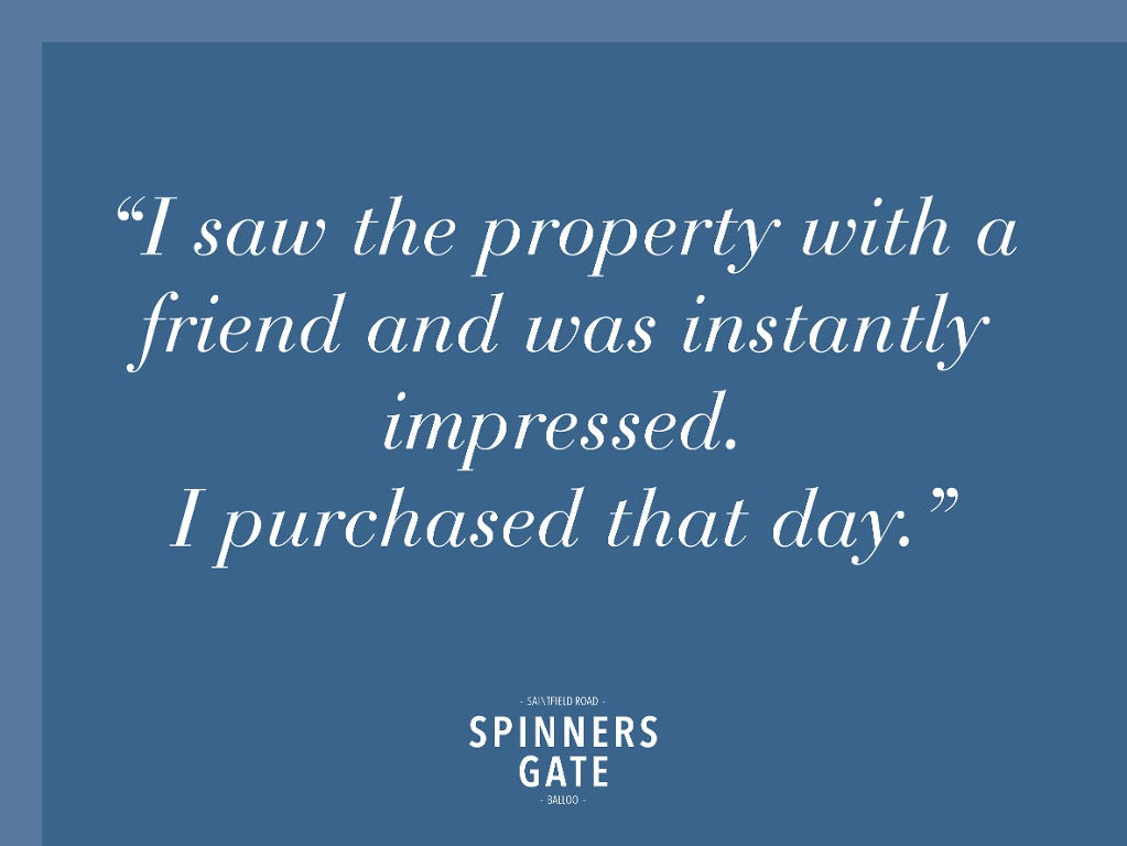 A Happy Homeowner At Spinners Gate