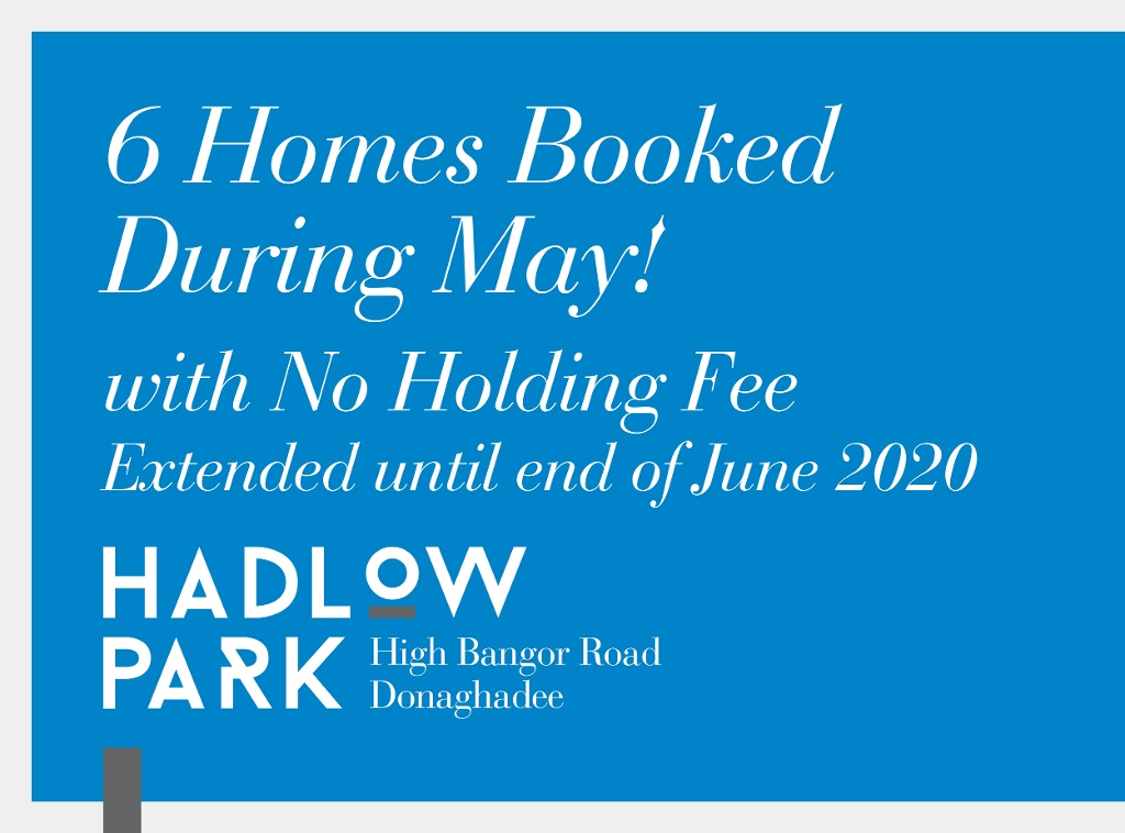 No Holding Fee at Hadlow Park Now Extended