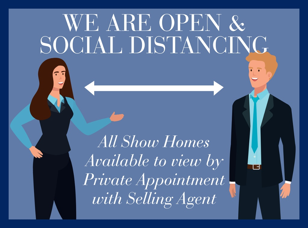 Show Homes Open By Private Appointment
