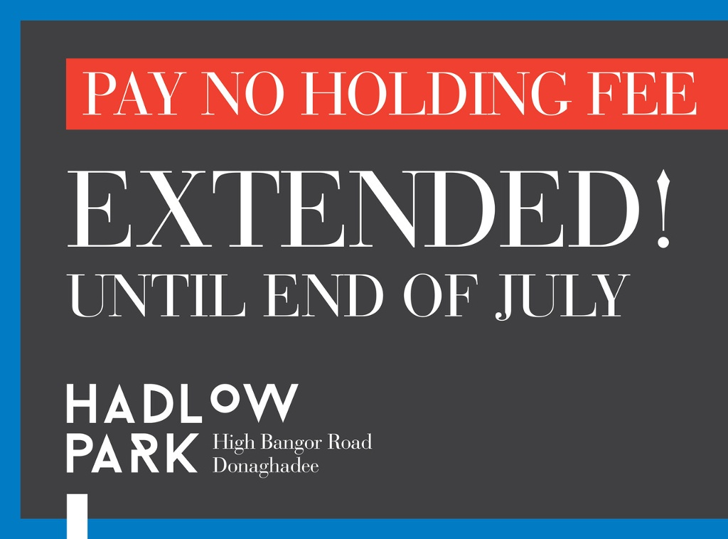 No Booking Fee Extended At Hadlow Park