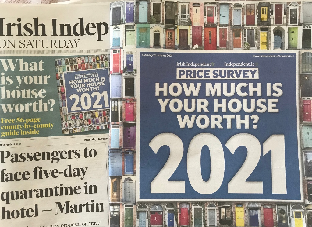 How much is your house worth 2021?