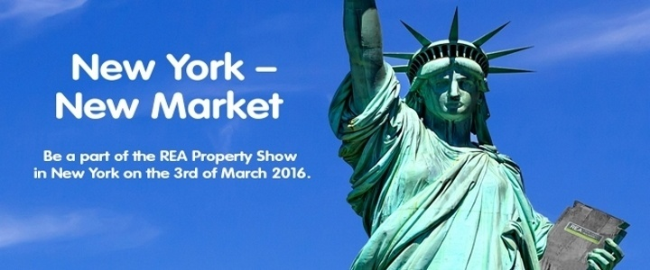 Real Estate Alliance Property Show – New York 3rd of MARCH 2016