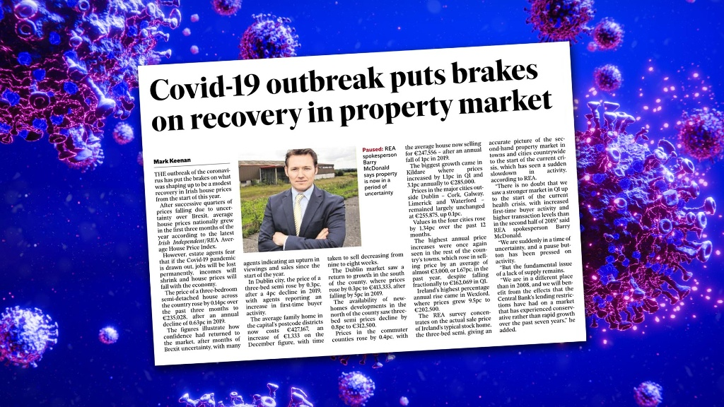 Housing market showed signs of growth before Covid-19 outbreak