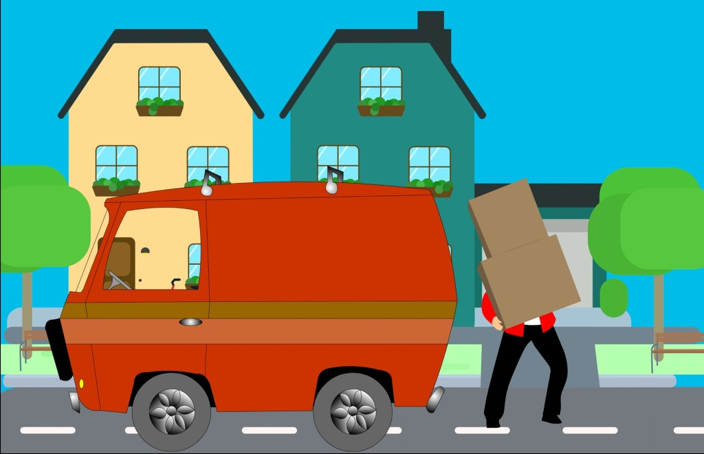 people moving home