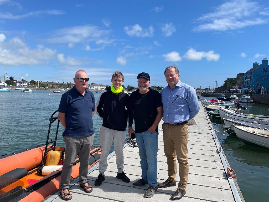 International Navigator visits Dungarvan