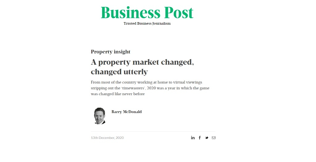 Market Review from Sunday Business Post