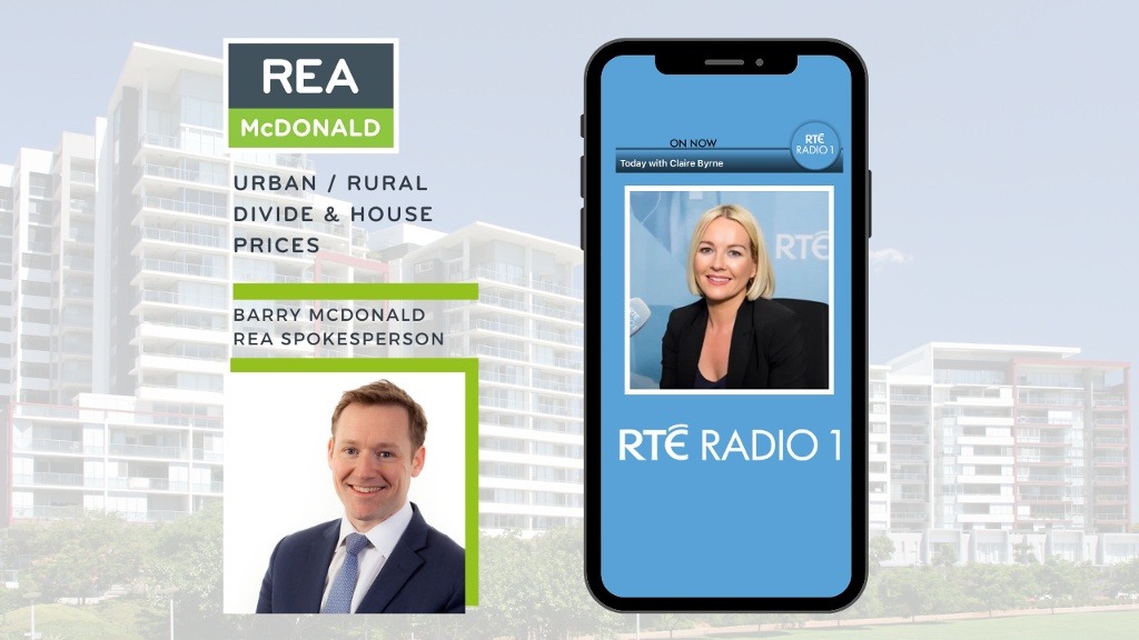Listen back to Barry McDonald's interview with Claire Byrne on RTE Radio One - 27th September 2021