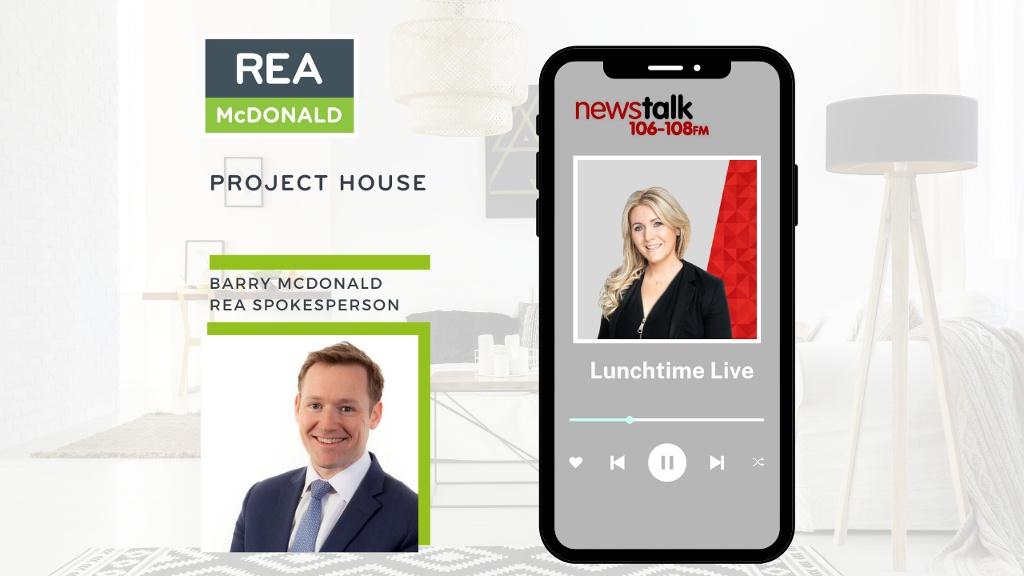 Listen back: Barry McDonald joined Newstalk's Andrea Gilligan on Lunchtime Live - 22nd September 2021