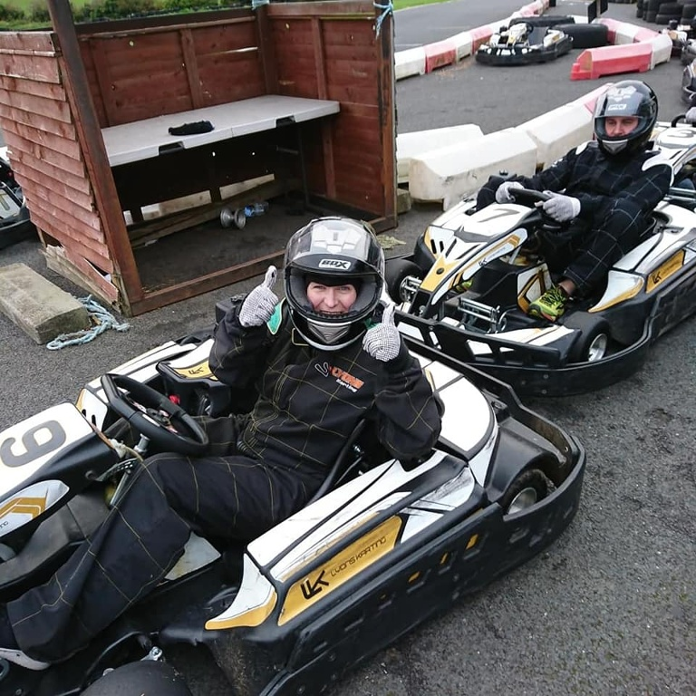 Team Hannath Social Events - Go Karting