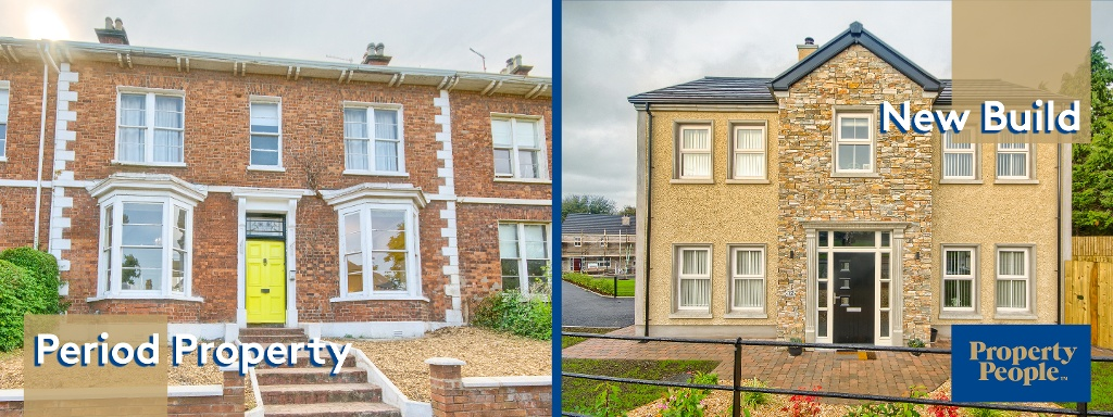 New build property or an existing home, Which do you prefer?